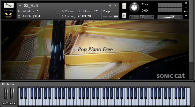 Pop Piano Free UI Image