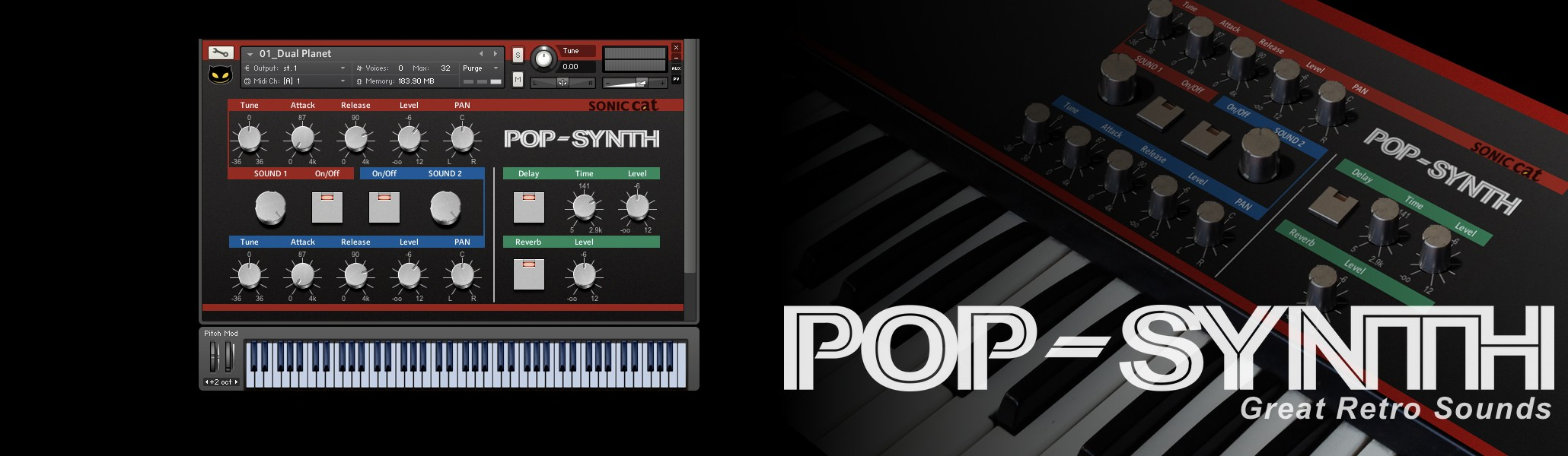 Pop Synth – Sonic Cat