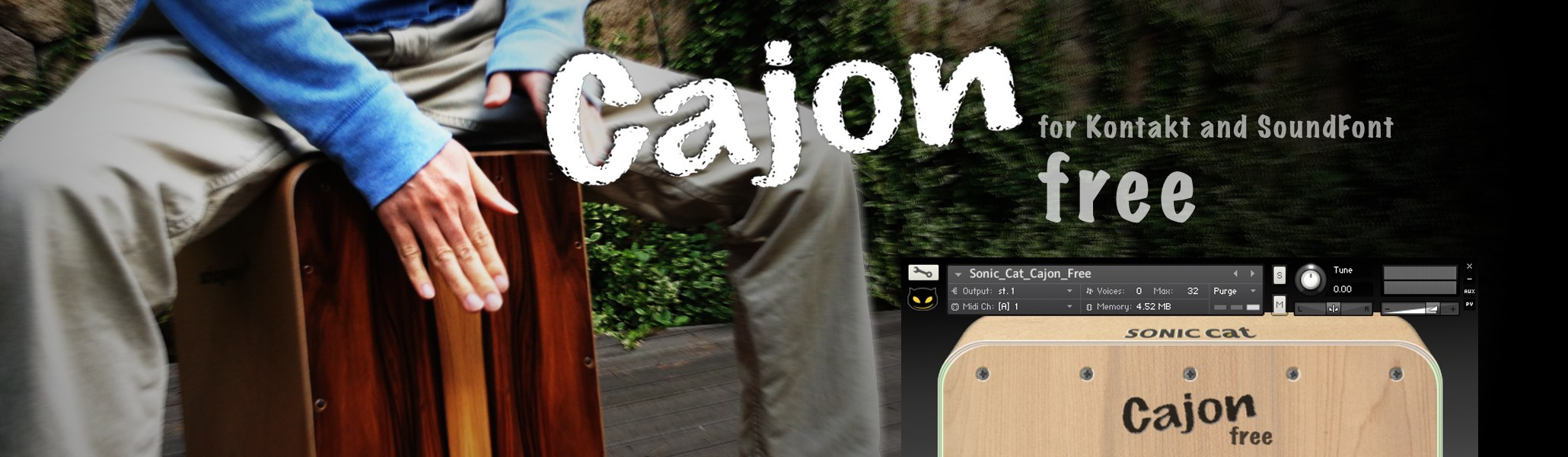 Cajon Free Title Image