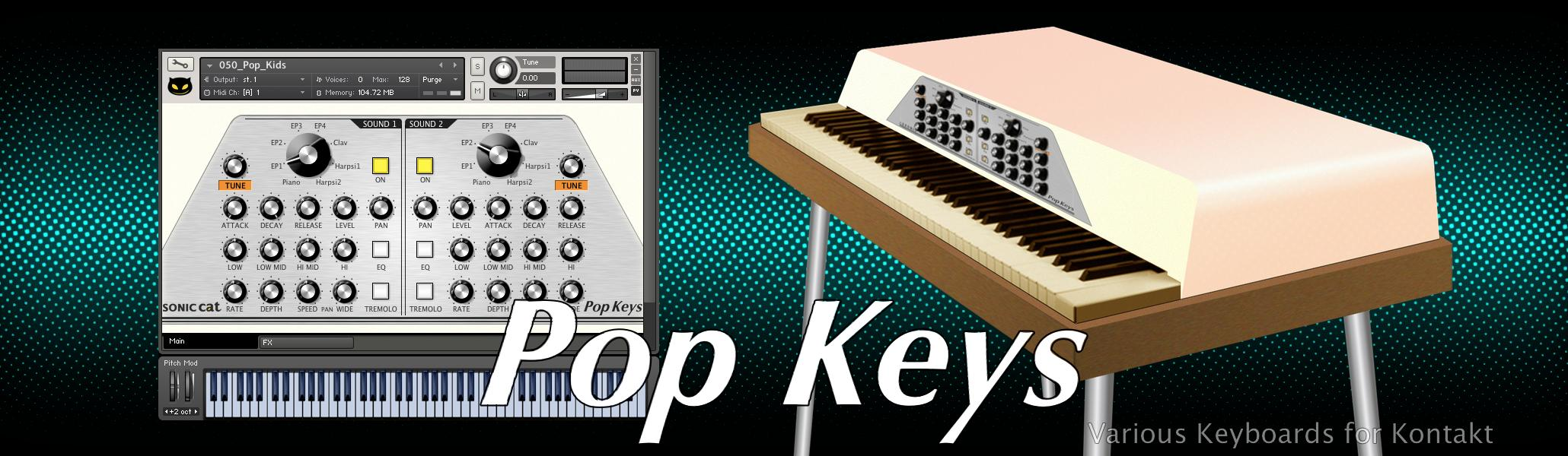 Pop Keys Title